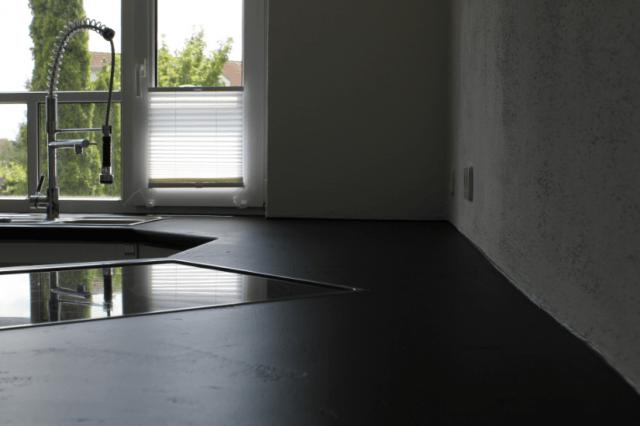Fugenlose Küchenablage Bild
