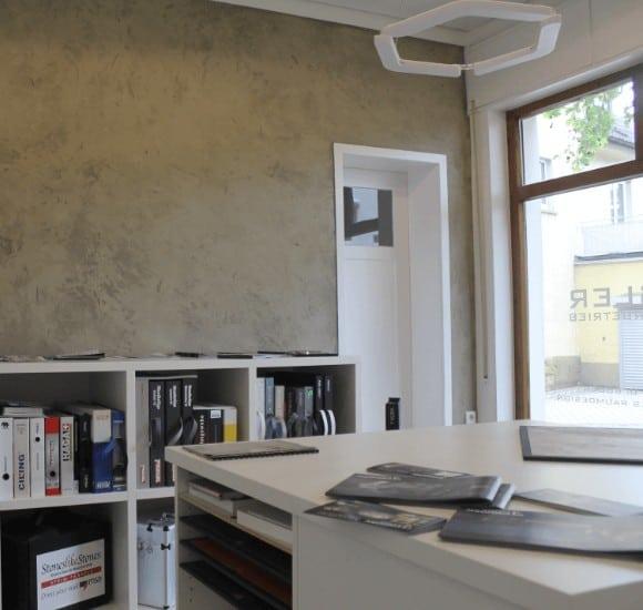 Schauraum Malermeister Ingo Häusler Heilbronn