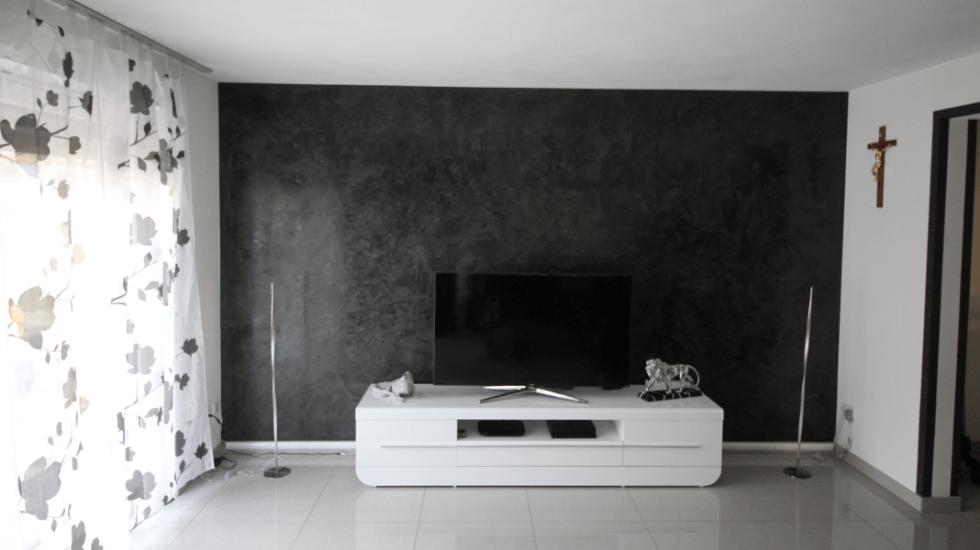 Wohnzimmerwand: Die moderne fugenlose Wandgestaltung | Malerbetrieb Ingo Häusler Heilbronn