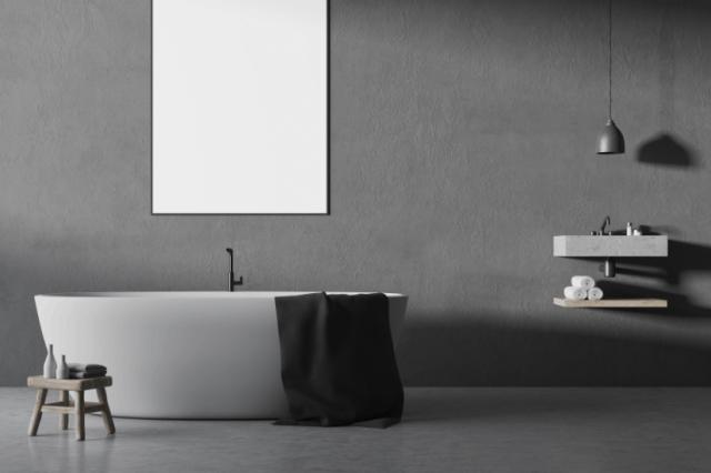 Schlichtes zeitloses Design an der Wand mit Hilfe der fugenlosen Oberflächen | Malerbetrieb Ingo Häusler Heilbronn