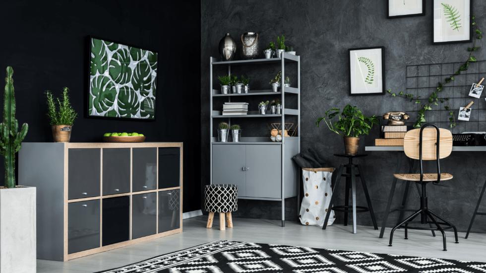 Farbiger Blickfang im Wohnzimmer: Die fugenlose Wandgestaltung | Malerbetrieb Ingo Häusler Heilbronn